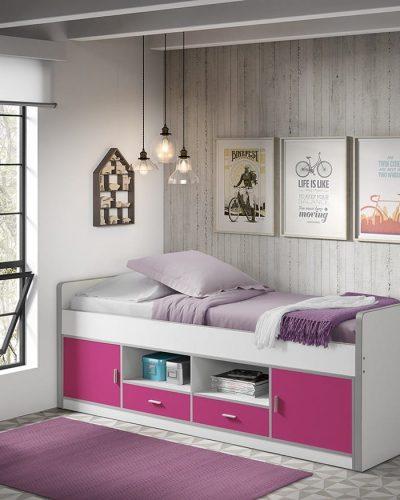lit-compact-pour-enfant-bonus-design-simple-et-pratique-coloris-blanc-et-fuchsia.jpg