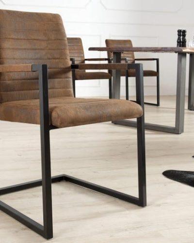 lot-de-4-chaises-modernes-coloris-marron-antique-en-microfibre-et-en-acier-inoxydable-noir.jpg